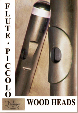 New 16 page Wood Piccolo and Flute Headjoint Brochure